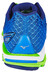 Mizuno Wave Rider 19 Running Shoes Men twilight blue/white/green gecko